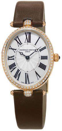 35e0de60376 Frederique Constant Ladies Classics Art Deco Rose Gold Diamond Watch