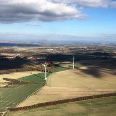 #fields #view #clouds #wind #power #plant #shadows #village #cessna #c172 #day #avporn #aviation #airplane #avgeek #planeporn #autumn by suchac500