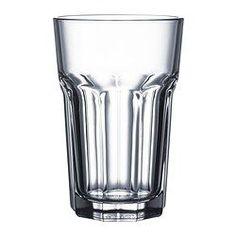 IKEA - POKAL, Vaso, También se puede usar para bebidas calientes.Al estar hecho de vidrio templado, este vaso es duradero y aguanta muy bien los golpes.