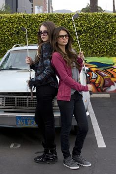 Still of Victoria Justice and Elizabeth Gillies in Victorious