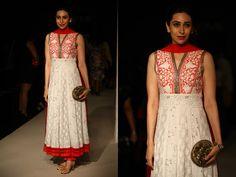 Opening of Lakme Fashion Week #Lakmefw 2013 - By Manish Malhotra #KarishmaKapoor