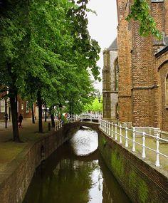 Oude Kerk Delft - Delft, Jižní Holandsko