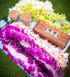 Traditional Hawaiian wedding #hawaiianweddings