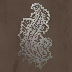 Wall Stencil | Paisley A Impression Stencil | Royal Design Studio