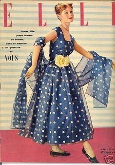 Brigitte Bardot  -  Elle April 1951