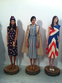 thatkindofwoman:    Lordy, have mercy these dresses.  quitecontinental:    Lauren Moffatt SS13