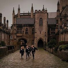 Image discovered by ᴄʜᴀʀʟᴏᴛᴛᴇ. Find images and videos about harry potter and hogwarts on We Heart It - the app to get lost in what you love. Autumn Aesthetic, Aesthetic Photo, Aesthetic Pictures, Gothic Aesthetic, Harry Potter Aesthetic, Slytherin Aesthetic, Casa Steampunk, Gina Weasley, Photowall Ideas