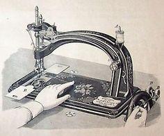 The New American Sewing Machine American BH&O