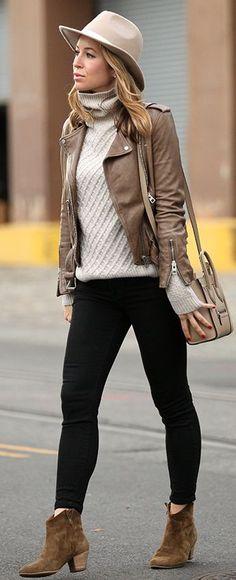 Casual Week End Fall Street Style Inspo by Brooklyn Blonde