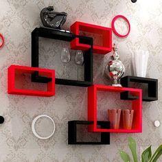 Best 50 Wooden wall shelves design ideas for modern homes 2019 Wooden Wall Shelves, Wall Shelf Decor, Wall Shelves Design, Wall Design, Shelf Furniture, Home Decor Furniture, Diy Home Decor, Home Room Design, Home Interior Design