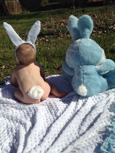 Baby first Easter picture! http://newborn-baby-care.us