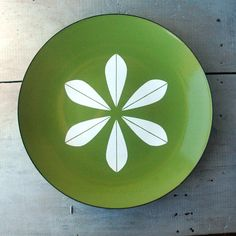 Green Cathrineholm Plate