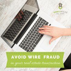 avoid wire fraud