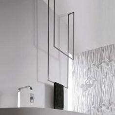 antoniolupi TANDEM-UP Double towel stand 720 x 1670 mm