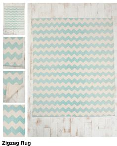 Urban outfitter Zig zag rug 8x10 $199 So cute and they have variation of sizes