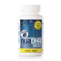 NuaDHA® 500 es un preparado alimenticio a base de DHA que aporta 500 mg, la máxima concentración de DHA/perla dentro de los formatos masticables del mercado.
