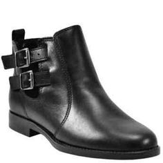 Stella Black Leather Casual Booties  Stella black leather bootie...   https://nemb.ly/p/4JzTdSfOZ Happily published via Nembol