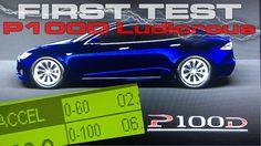 Tesla Model S P100D Ludicrous Performance Testing 0-60 MPH 0-100 MPH 1/4...