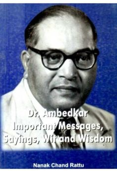 Buy Online Dr Ambedkar Important Messages Sayings Wit And Wisdom Wit And Wisdom, Politicians, English, Messages, Sayings, History, Books, Historia, Libros