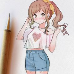 Anime Drawings Sketches, Anime Sketch, Kawaii Drawings, Manga Drawing, Cartoon Drawings, Cute Drawings, Drawing Tips, Amazing Drawings, Beautiful Drawings
