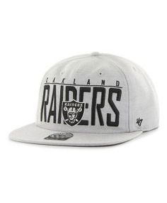 43d3eac02d8 Oakland Raiders Highway Captain Rf Gray 47 Brand Adjustable Hat - Great  Prices And Fast Shipping at Detroit Game Gear