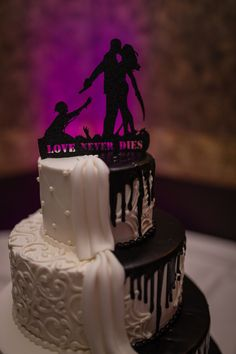 12 Best Zombie Wedding Cakes Images Deserts Halloween Cakes Sweets