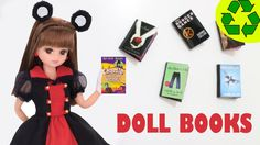 How to make doll books - Doll crafts