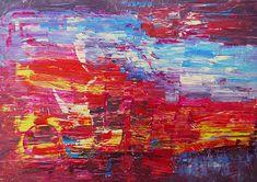 "Abstract Art Painting ""Abstract III"" by M. Wapiennik"