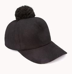Cool Girl Pom Pom Baseball Hat Boné aa1a8b7160d