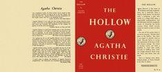 The Hollow by Agatha Christie Diy Dollhouse, Dollhouse Miniatures, Mini Library, House Accessories, Agatha Christie, Mini Books, Book Covers, Project Ideas, House Ideas