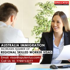 Australia Immigration, New Details, Regional, Continents, Number