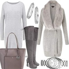 Lipsy Grey | Stylaholic #fashion #style #outfit #look #dress #mode #sexy #trend #luxury