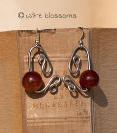 Shining brown stainless steel earring by kocosekszerek on Etsy