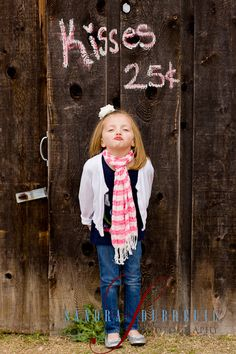 Cute photo idea-- we might need to kidnap some cute kids for this