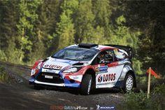 Robert Kubica Ford Fiesta WRC