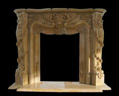 Pasadena Marble Fireplaces Sale - Ornate French Mantels - Custom Design