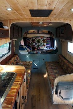 43 Awesome Smart Camper Van Conversion Inspirations For You, The van are found in Austin, TX. Camper vans and motorhomes are amazingly pricey. In situations in this way, Mercedes Sprinter vans can wind up being . Vw Lt Camper, Vanz, Van Home, Camper Van Conversion Diy, Day Van Conversion, Van Interior, Van Living, Van Camping, Sprinter Van