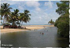 Playa y Río Arroyo Salado, La Entrada, Cabrera, R.D.