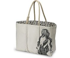 Sperry Top-Sider Sperry Top-Sider Sailcloth Mermaid Large Tote