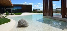 Piscina de areia – aprenda as técnicas de como construir #LandscapePictures