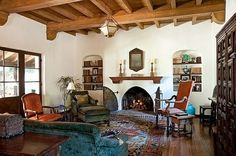 Spanish Colonial Living Room | Spanish Colonial Revival Living Room