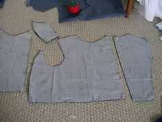 Living with Jane: RHF Regency Mens Waistcoat: Tutorial, Part 1