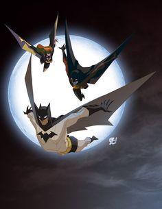Bat Fam by *EricGuzman on deviantART