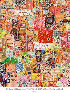Colin Johnson - collage