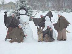 Community Life of Capuchin Sisters of Nazareth, joyful Franciscan women…