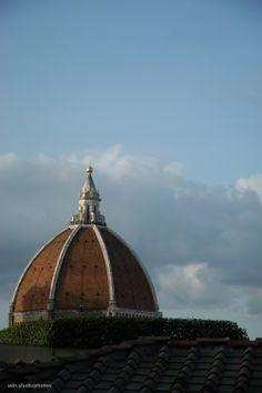 La Cupola del Brunelleschi vista da Palazzo Vecchio, Firenze (Toscana, Italy) - by Silvana, aprile 2014