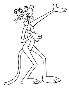 wikiHow to Draw the Pink Panther -- via wikiHow.com