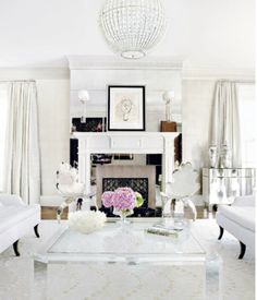 1000 images about pristine white living room on pinterest for Pristine garden rooms