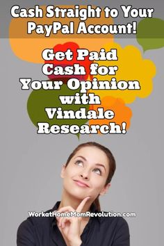 I love, love, love Vindale Research! One of the best ways to bring in some extra money from home is participating in online surveys. Awesome way to make money from home! Bring in some extra cash! Pays straight to your PayPal! #workfromhome If you're looking for a way to work from home, every little bit counts!