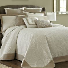 Luxury Bedding Sets For Less King Size Comforter Sets, King Size Comforters, Bedding Sets, Beige Bedding, Daybed Covers, Duvet Covers, Natural Bedding, Beds For Sale, Bedroom Sets
